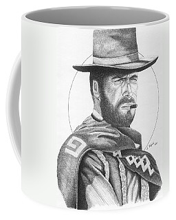 Man With No Name Coffee Mug by Lawrence Tripoli