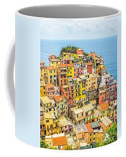 Manarola Cinque Terra City Coffee Mug