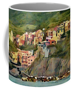 Manarola Coffee Mug by Jeff Kolker