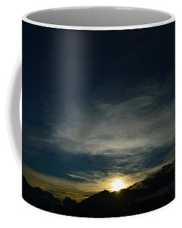 Manastash Sunrise Coffee Mug