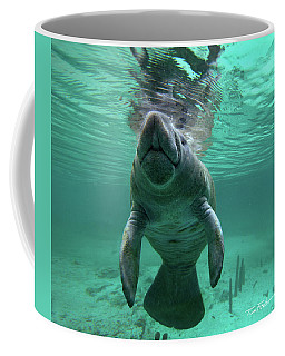 Manatee Breathing Coffee Mug