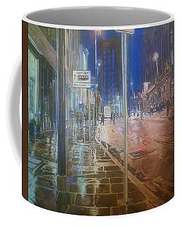 Manchester At Night Coffee Mug