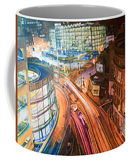 Manchester High Street Coffee Mug