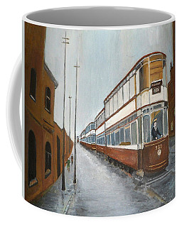 Manchester Piccadilly Tram Coffee Mug