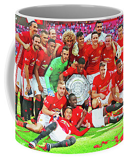 Manchester United Celebrates Coffee Mug