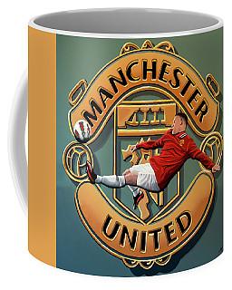 Manchester United Painting Coffee Mug