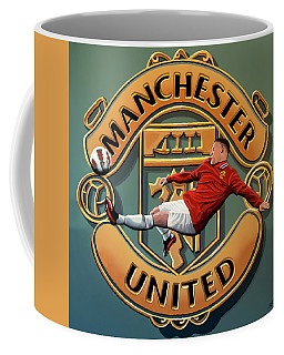 Manchester United Painting Coffee Mug
