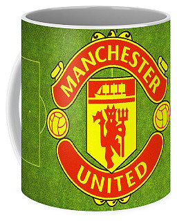 Manchester United Theater Of Dreams Large Canvas Art, Canvas Print, Large Art, Large Wall Decor Coffee Mug by David Millenheft