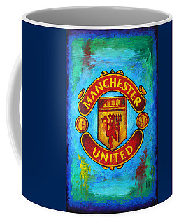 Manchester United Vintage Coffee Mug