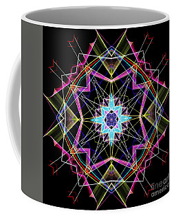 Coffee Mug featuring the digital art Mandala 3304a  by Rafael Salazar