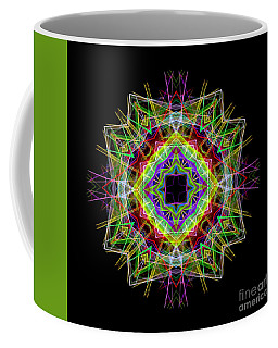 Coffee Mug featuring the digital art Mandala 3333 by Rafael Salazar