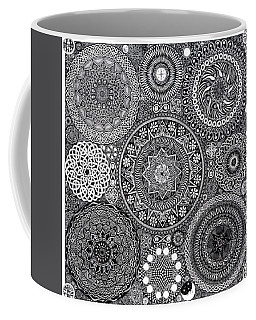 Mandala Bouquet Coffee Mug