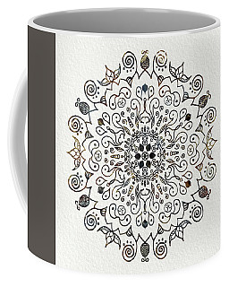 Mandala Earth And Water 2 Coffee Mug