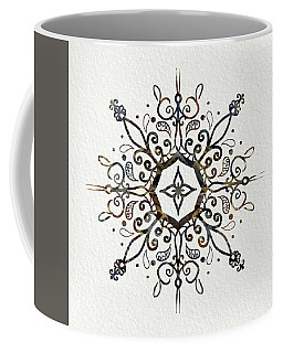 Mandala Earth And Water Coffee Mug