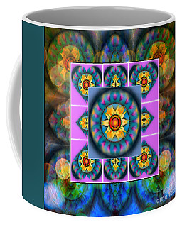 Mandala Heart Montage 4 Coffee Mug