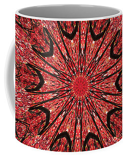 Mandala Of Autumn Woods Coffee Mug