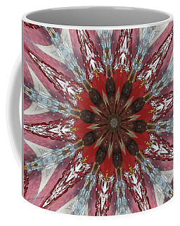 Mandala Of Glass Coffee Mug