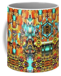 Mandala Of The Divine Radiance Of Pristine Presence Coffee Mug
