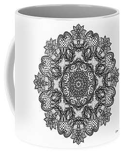 Mandala To Color 2 Coffee Mug by Mo T