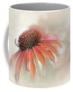 Mandarin Cone Flower Coffee Mug
