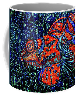 Dreamtime Mandarin Coffee Mug