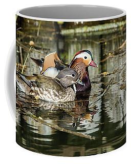 Mandarin Ducks The Couple Coffee Mug by Torbjorn Swenelius