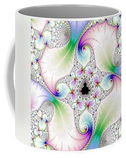 Mandebrot In Pastel Fractal Wonderland Coffee Mug