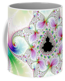 Mandebrot In Pastel Fractal Wonderland Coffee Mug