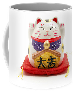 Maneki Neko Coffee Mug