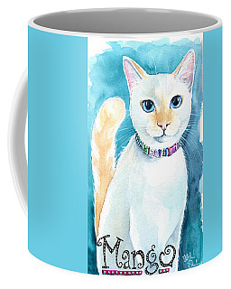 Mango - Flame Point Siamese Cat Painting Coffee Mug