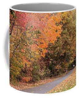 Manhan Rail Trail Fall Colors Coffee Mug