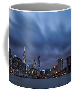 Manhattan And Brooklyn Bridge Coffee Mug