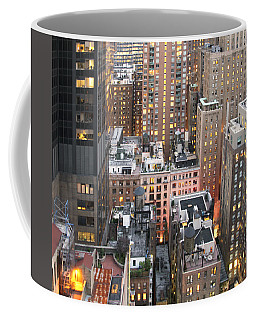 Manhattan At Dusk Coffee Mug