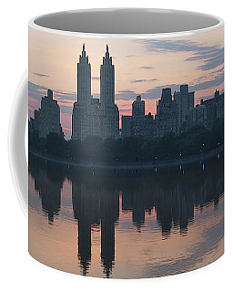Manhattan At Night  Coffee Mug