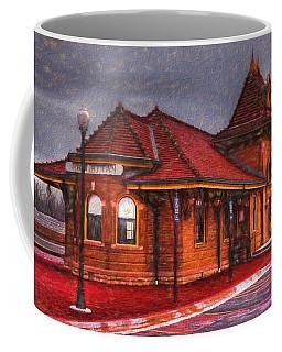 Manhattan Kansas Train Depot Coffee Mug