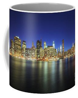 Manhattan Nite Lites Nyc Coffee Mug