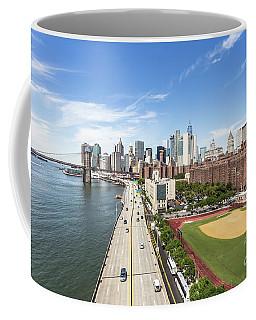 Manhattan On A Sunny Day Coffee Mug