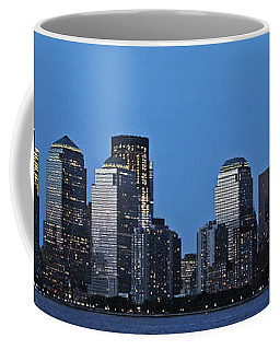 Coffee Mug featuring the photograph Manhattan Skyline by John Haldane