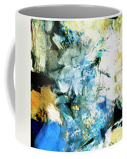 Coffee Mug featuring the painting Manifestation by Dominic Piperata