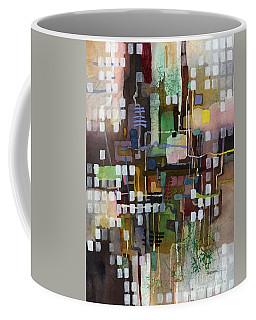 Coffee Mug featuring the painting Manifold by Hailey E Herrera