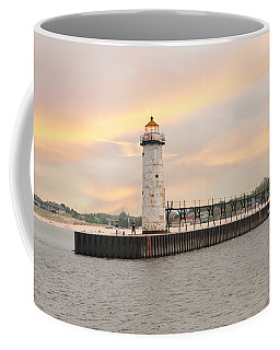 Manistee North Pierhead Lighthouse Coffee Mug