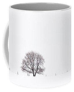 Manitoba Winter Coffee Mug by Yvette Van Teeffelen