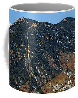Manitou Incline Photographed From Red Rock Canyon Coffee Mug