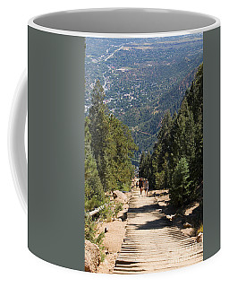 Manitou Springs Pikes Peak Incline Coffee Mug