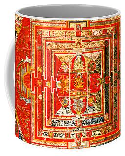 Manjuvara Thangka Mandala Coffee Mug