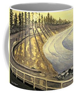 Manly Beach Sunset Coffee Mug