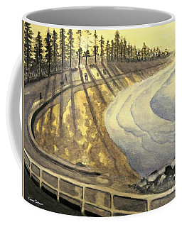 Manly Beach Sunset Coffee Mug