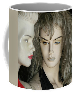 Mannaquin Dreams - Square Coffee Mug