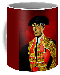 Manolete  Coffee Mug by Manuel Sanchez
