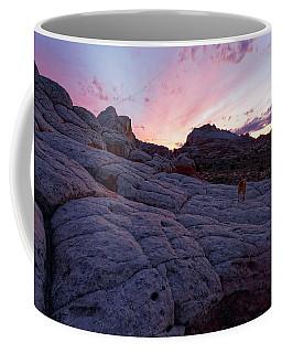 Man's Best Friend Sunset Coffee Mug by Jonathan Davison